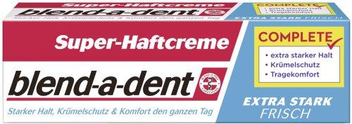 Blend-a-med Super-Haftcreme extra stark -frisch- 47g, 3er Pack (3 x 47 g)