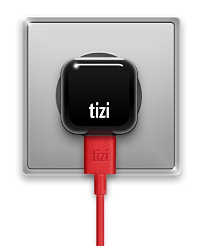 equinux Tizi Tankstelle Mini (1A) - superkleines, ultrakompaktes, Flaches Reise-USB Netzteil universell für Alle USB-Geräte