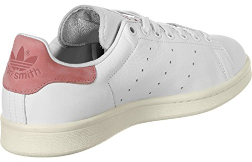 Adidas Sneaker STAN SMITH S80024 Weiß Rose running white-running white-ray pink (S80024)