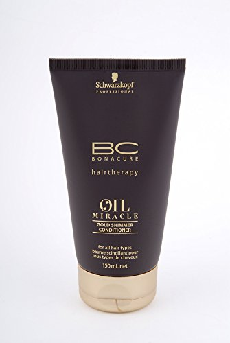 Schwarzkopf Bonacure Oil Miracle Gold Shimmer Conditioner, 150 ml, 1er Pack, (1 x 0,15 L) (Bonacure Oil)