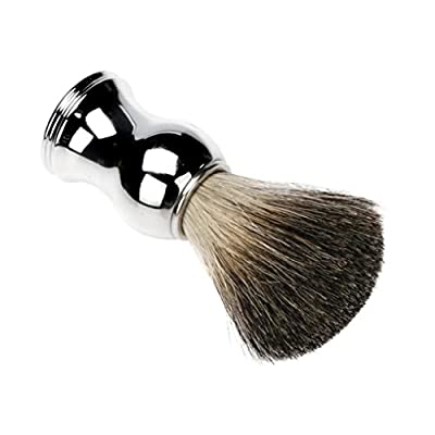 Ularma Pure Badger Hair Shaving Brush Alloy Handle for Barber from Ularma
