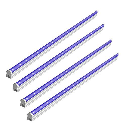 BRTLX UV Schwarzlicht Lamp,6W USB Tragbare UV LED Beleuchtung für DJ Parties, Clubs, Halloween, Idealer Lichteffekt und Angenehme Atmosphäre(DC 5V)