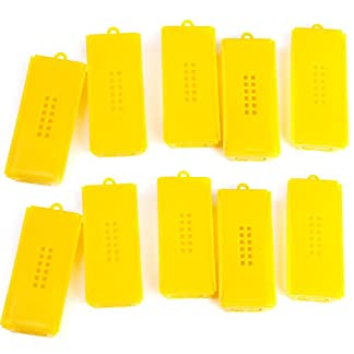 10pcs Professional Queen Bee Cage Catcher Beekeeping Tool Yellow 41SuzeiRvUL