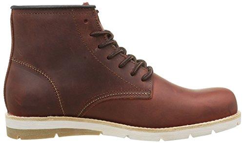 Levi's Jax Clean, Desert Boots Homme Rouge (Dark Bordeaux 84)