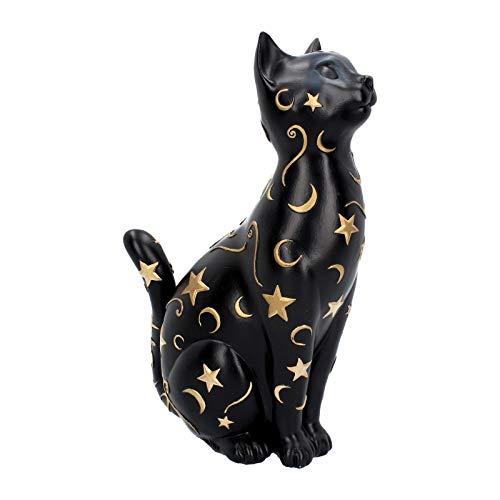 Nemesis Now Felis - Figura Decorativa (26 cm, Resina, Talla única), Color Negro