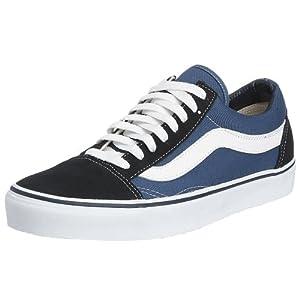 Vans Old Skool, VD3HNVY, Unisex-Erwachsene Sneakers, Blau (Navy), 42.5 EU