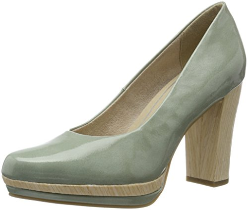 Marco Tozzi Damen 22433 Pumps, Grün (Mint 768), 39 EU
