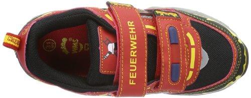 Kappa Feuerwehr Low K Footwear Kids, Scarpe da Ginnastica Unisex-Bambini Rosso (2011 red/black)