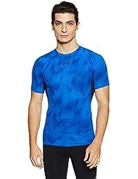 Under Armour Heat Gear Armour Printed Short Sleeve Men's Round Neck T-Shirt