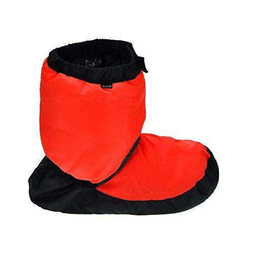 Bloch Danza Warm Up Boots Fluorescente Arancione