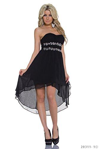 Fashion4Young -  Vestito  - Donna Nero