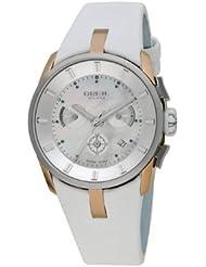 Breil Milano BW0513 - Reloj de mujer de cuarzo, correa de piel color blanco