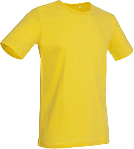 Crew Neck T-Shirt Morgan - Farbe: Daisy Yellow - Größe: XL (Daisy Kurzarm-shirt)