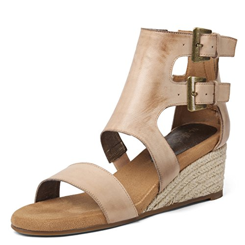 Summer Leather Mit British Sandals/Bare-farbige Hänge Und Sandalen B