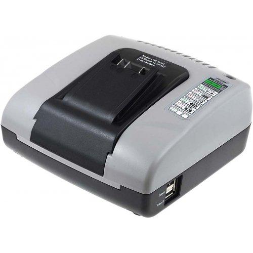 Preisvergleich Produktbild akku-net Akku-Ladegerät mit USB für Werkzeug Bosch Uneo Maxx,  14, 4V-18V