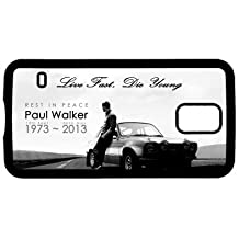 Paul Walker Fast and Furious design Printed Phone Case 01 (Samsung Galaxy Note 4, Black)