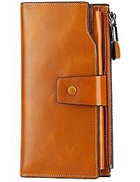 Herren-accessoires Linwin Rfid Blocking Mens Soft Smoonth Geniune Leather Wallet With Zipped For Id Geldbörsen & Etuis