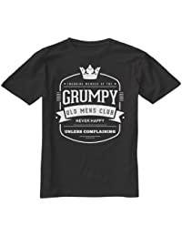 Grumpy Old Mens Club Funny Gift T Shirt