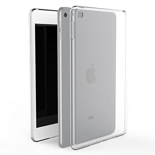Asgens iPad Mini 4 2015 7.9'' Hülle, Transparent Schlank Silikon-Weicher TPU Tablet-Computer-Fall [Stoßdämpfung] Für Apple iPad Mini 4 7.9 Zoll 2015