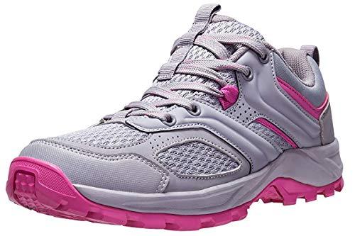 CAMEL CROWN Zapatillas de Senderismo para Mujer Antideslizantes Zapatillas de Trekking Montaña Transpirables...