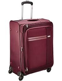 VIP Plazma Polyester 56 cms Black Softsided Cabin Luggage (STPLAW55BLK)