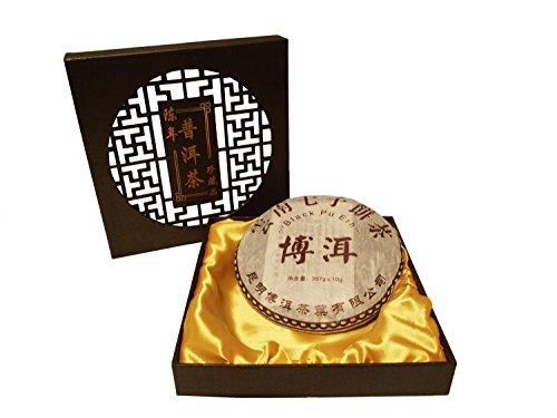 Kunming Pu-erh Pie Compressed Formed Tea Cake 400g **FAST & FREE Uk Post** Black Pu-erh Tea TeaCakes of Yorkshire Loose Leaf Tea