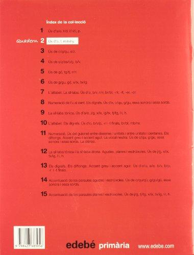 Quadern 2 Ortografía - 9788423683956