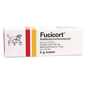 Fucicort Cream for Inflammatory Itchy Skin , Insect & Mosquito Bites, Skin Infection Skin 5g
