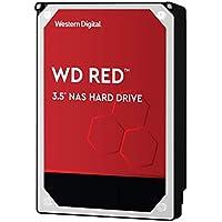 Western Digital WD Red interne Festplatte 4 TB (3,5 Zoll, NAS Festplatte, 5400U/min, SATA 6 Gbit/s, NASware-Technologie, für NAS-Systeme im Dauerbetrieb) rot
