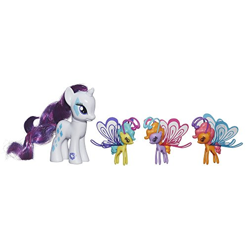 y Cutie Mark Magic Wings Ponies Friendship Flutters Rarity Figure (Baby Fairy Wings)
