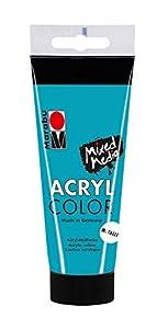 Marabu 0012010050792  Acryl Color, Petróleo metálico, 100 ml