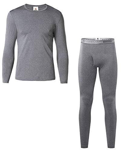 LAPASA Ensemble de sous-vêtements Thermiques Homme (Haut Maillot de Corps et Pantalon Bas) Ultra Light - Hiver Sport Montagne M11&M57