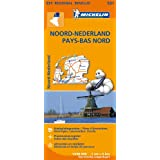 Carte Pays-Bas Nord Michelin