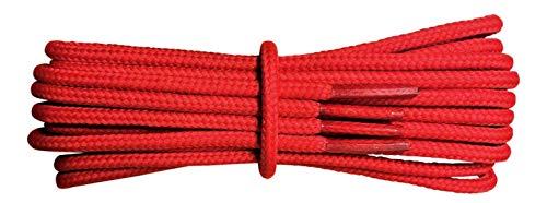 Fabmania Cordones Fuertes - Rojo - 4 mm