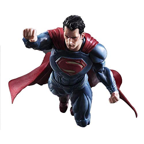 MODELSS Superman-Action-Chart, DC Justice League-Serie Superman-Spielzeug, 12-Zoll-Superman-Actionfigur (Sammler Superman Kostüm)