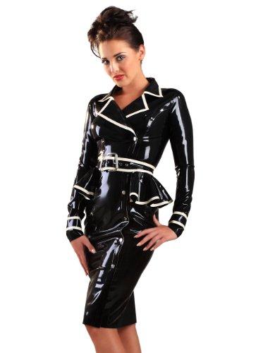 d - Schwarz-weiss EU Größe 40 (M) (Drehen Sie Das Weiße Kleid In Halloween-kostüm)