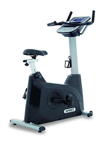Spirit Fitness Bike XBU 55 - Heimtrainer, Ergometer, 10 Programme, 13,5kg Schwungrad, 7,5`` LCD