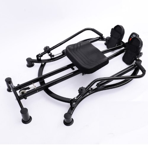 Homcom Hydraulisches Dual-Rudergerät/Fitnessgerät