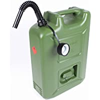 X-Parts - Garrafa para combustible, 20 l, color verde, homologación UN, diésel E85