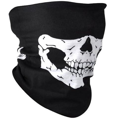 Froid Costumes - TRIXES Bandana polyvalent à tête de mort