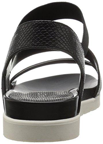 Nove Ovest Sandalo Vestito Zengen Più Sintetica Nero Donne Ur54qwU