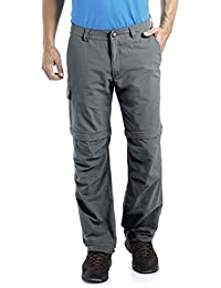 MAIER SPORTS Herren Zipp-Off Hose Trave aus 100% PA in 12 Größen, Funktionshose/ Outdoorhose/ Wanderhose, abzippbar und schnelltrocknend