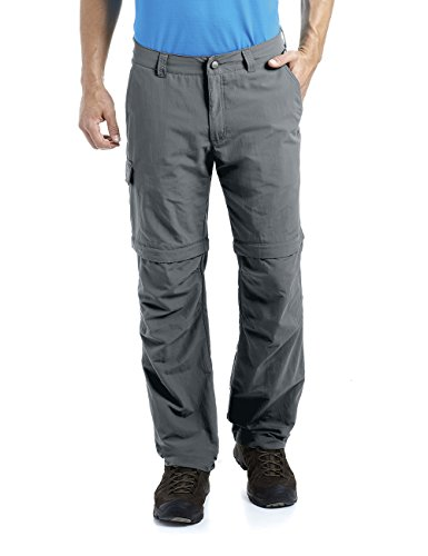 MAIER SPORTS Herren Zipp-Off Hose Trave aus 100% PA in 12 Größen, Funktionshose/ Outdoor