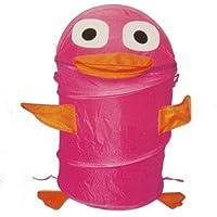 Preisvergleich für Design Ente rosa Spielzeugbox Aufbewahrungsbox Spielzeugtruhe Aufbewahrungstonne Spielzeugkiste