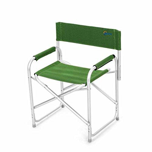 QRFDIAN Komfortable Freizeit Sessel Klappstuhl Direktor Stuhl Strand Stuhl Oxford Outdoor tragbaren...