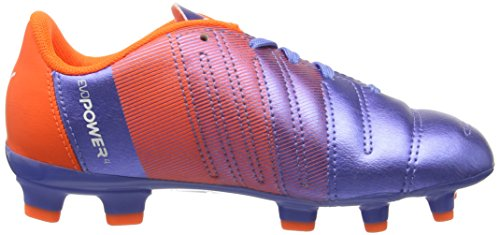 Puma Evopower 4.3 Fg Jr, Chaussures de Football Mixte Enfant Mehrfarbig (Blue Yonder-puma White-SHOCKING Orange 03)