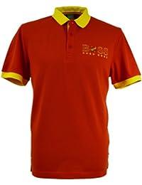 Hugo Boss Herren Poloshirt Rot Rot