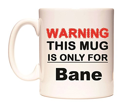 WARNING THIS MUG IS ONLY FOR Bane Taza por WeDoMugs