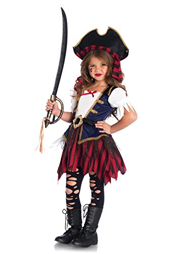 Imagen de disfraz tesoro de pirata niña 7 9 años 122/134