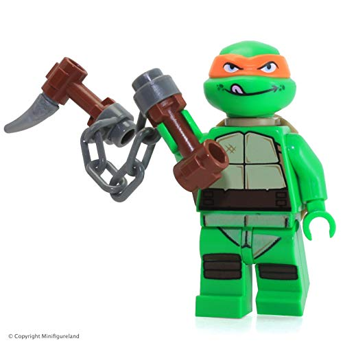 LEGO TMNT - MICHELANGELO V2 Minifiguren - Teenage Mutant Ninja Turtles - Turtle Ninja Michelangelo